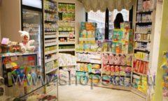 Торговое оборудование АКВАРЕЛИ для детского магазина Малышня Фото 40