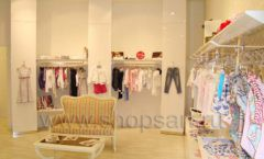 Торговое оборудование 21 ВЕК для детского магазина Винни одежда ТЦ Dream House Фото 01