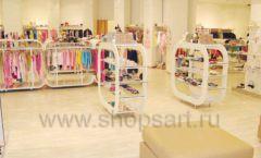 Торговое оборудование 21 ВЕК для детского магазина Винни одежда ТЦ Dream House Фото 02