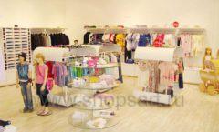 Торговое оборудование 21 ВЕК для детского магазина Винни одежда ТЦ Dream House Фото 04