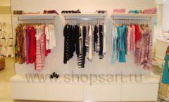 Торговое оборудование 21 ВЕК для детского магазина Винни одежда ТЦ Dream House Фото 16