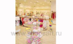 Торговое оборудование 21 ВЕК для детского магазина Винни одежда ТЦ Dream House Фото 20
