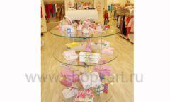 Торговое оборудование 21 ВЕК для детского магазина Винни одежда ТЦ Dream House Фото 21