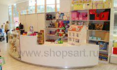 Торговое оборудование 21 ВЕК для детского магазина Винни одежда ТЦ Dream House Фото 22