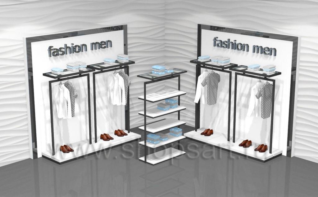 Торговое оборудование для магазинов одежды BLACK STAR