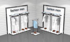 Торговая мебель для магазинов одежды BLACK STAR