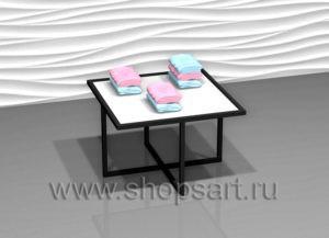 Стол демонстрационный квадратный BLACK STAR