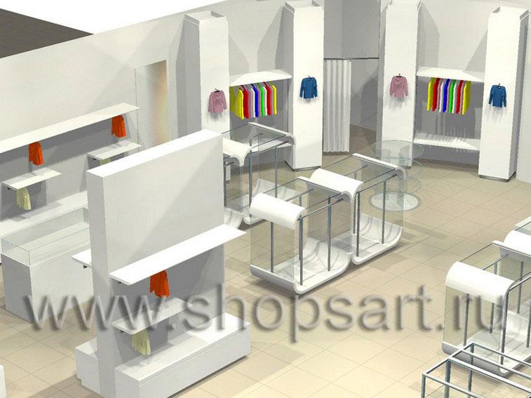 Торговое оборудование 21 ВЕК для детских магазинов