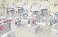 Торговое оборудование для детских магазинов МОНАЛИЗА