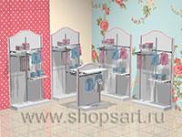 Торговое оборудование для детских магазинов ПРЕМИУМ