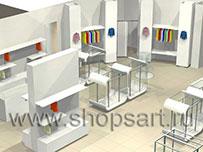 Торговое оборудование для магазинов одежды 21 ВЕК
