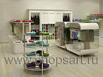 Торговое оборудование для магазинов одежды БЕЛАЯ КЛАССИКА