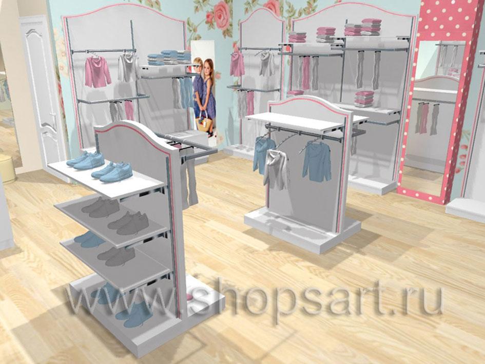 Торговое оборудование ПРЕМИУМ для детских магазинов