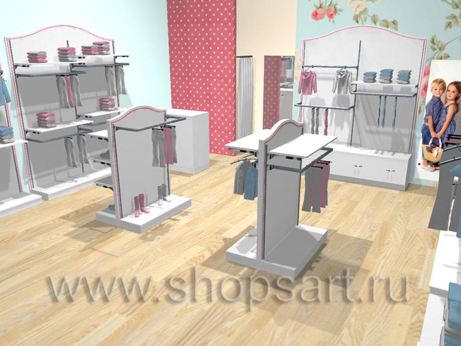 Торговое оборудование ПРЕМИУМ для магазинов одежды