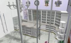 Визуализация магазина цветов АРОМАТНЫЙ МИР Картинка 02