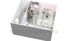 Визуализация магазина цветов АРОМАТНЫЙ МИР Картинка 09