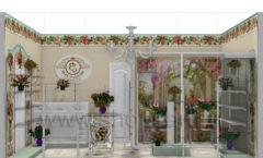 Визуализация магазина цветов BLEU LAVANDE АРОМАТНЫЙ МИР