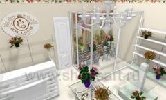 Визуализация магазина цветов BLEU LAVANDE Москва АРОМАТНЫЙ МИР Картинка 01
