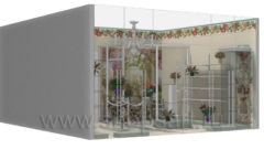 Визуализация магазина цветов BLEU LAVANDE Москва АРОМАТНЫЙ МИР Картинка 06