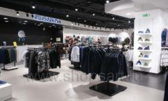 Торговое оборудование BLACK STAR для одежды RFP мужской зал Фото 01