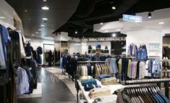 Торговое оборудование BLACK STAR для одежды RFP мужской зал Фото 04