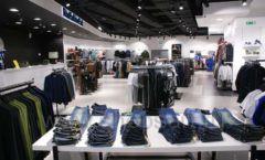 Торговое оборудование BLACK STAR для одежды RFP мужской зал Фото 05