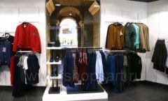 Торговое оборудование BLACK STAR для одежды RFP мужской зал Фото 07