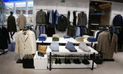 Торговое оборудование BLACK STAR для одежды RFP мужской зал Фото 09