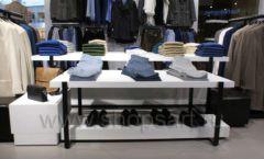 Торговое оборудование BLACK STAR для одежды RFP мужской зал Фото 10