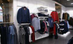 Торговое оборудование BLACK STAR для одежды RFP мужской зал Фото 15