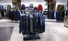 Торговое оборудование BLACK STAR для одежды RFP мужской зал Фото 18