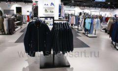 Торговое оборудование BLACK STAR для одежды RFP мужской зал Фото 19