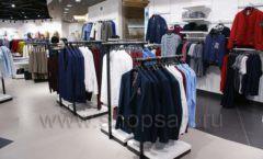 Торговое оборудование BLACK STAR для одежды RFP мужской зал Фото 20