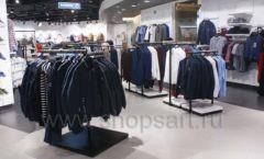 Торговое оборудование BLACK STAR для одежды RFP мужской зал Фото 21