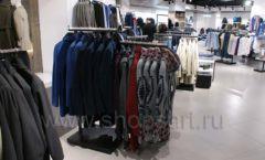 Торговое оборудование BLACK STAR для одежды RFP мужской зал Фото 22