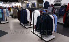 Торговое оборудование BLACK STAR для одежды RFP мужской зал Фото 24