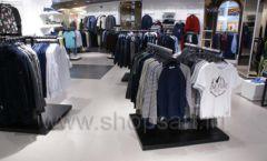 Торговое оборудование BLACK STAR для одежды RFP мужской зал Фото 25