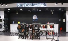 Торговое оборудование BLACK STAR для одежды RFP женский зал Фото 01