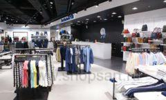 Торговое оборудование BLACK STAR для одежды RFP женский зал Фото 06