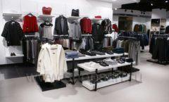 Торговое оборудование BLACK STAR для одежды RFP женский зал Фото 24