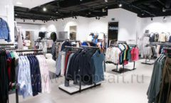 Торговое оборудование BLACK STAR для одежды RFP женский зал Фото 36