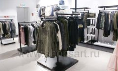 Торговое оборудование BLACK STAR для одежды RFP женский зал Фото 37