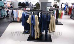Торговое оборудование BLACK STAR для одежды RFP женский зал Фото 39