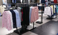 Торговое оборудование BLACK STAR для одежды RFP женский зал Фото 42