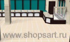 Торговое оборудование РОНДО магазина Охота на рыбалку Дизайн 01