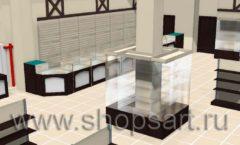 Торговое оборудование РОНДО магазина Охота на рыбалку Дизайн 04
