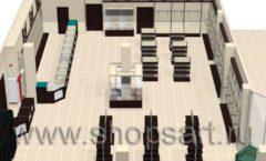 Торговое оборудование РОНДО магазина Охота на рыбалку Дизайн 10