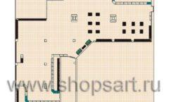 Торговое оборудование РОНДО магазина Охота на рыбалку Дизайн 16