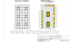 Дизайн проект детского магазина Емеля торговое оборудование КАРАМЕЛЬ Лист 05