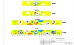 Дизайн проект детского магазина Емеля торговое оборудование КАРАМЕЛЬ Лист 07